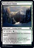 《FOIL》【英語版】森林の地割れ/Woodland Chasm[KHM土地C]